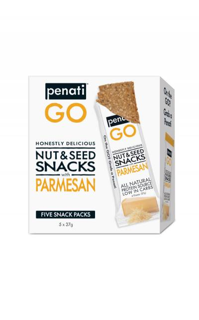 On the GO Honestly Delicious Nut & Seed Snacks with PARMESAN