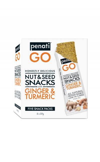 On the GO Honestly Delicious Nut & Seed Snacks with GINGER & TURMERIC